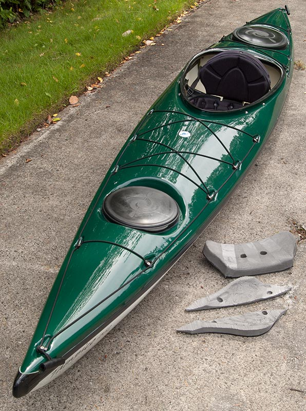 Hurricane Tampico 135L Sea Kayak, very good condition, Port Townsend